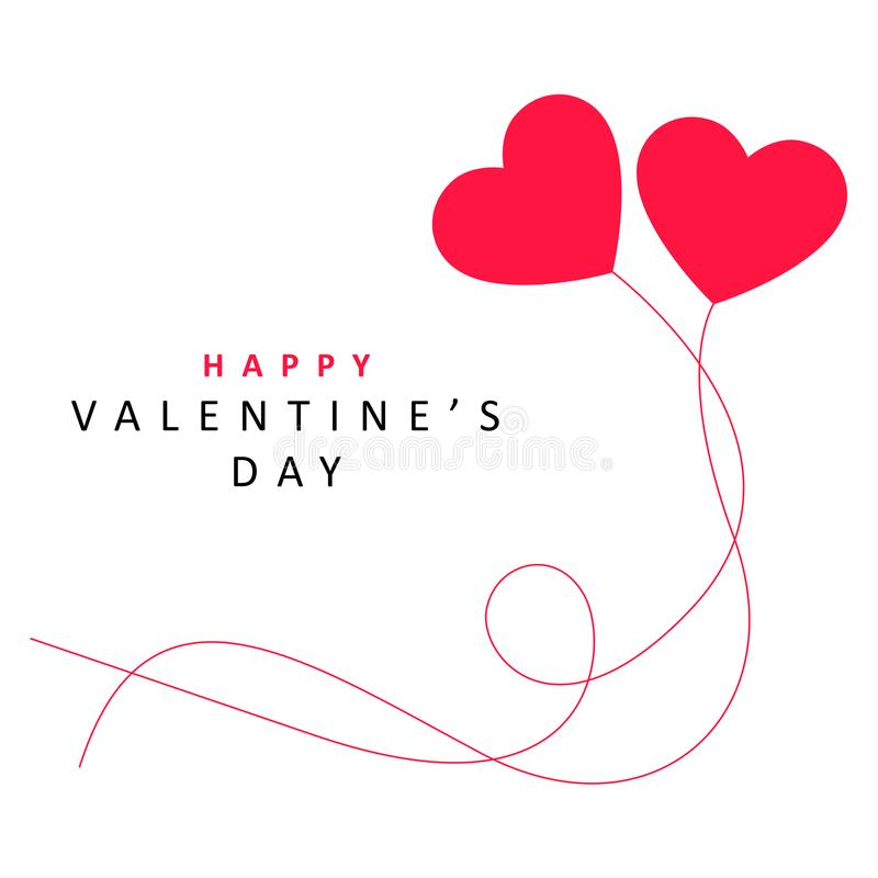 Предпосылка дня ` s валентинки с влюбленностью стоковые изображения