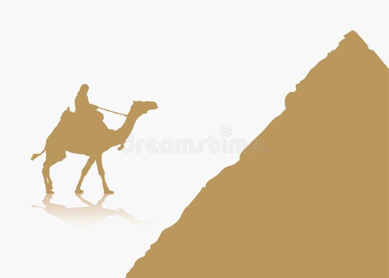 Предпосылка Египета бесплатная иллюстрация