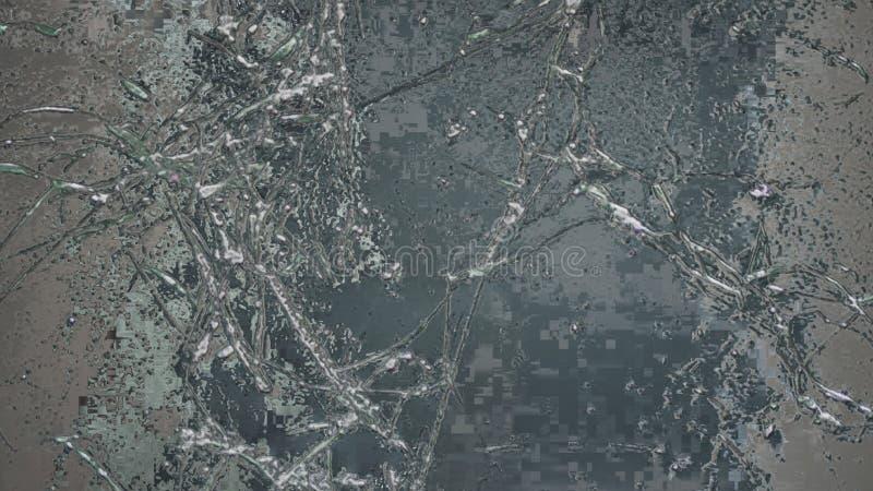 Предпосылка естественной зимы замороженная абстрактная с текстурой льда стоковая фотография rf