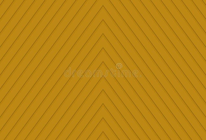 Предпосылка желтого цвета с линиями формируя треугольники стоковые фотографии rf