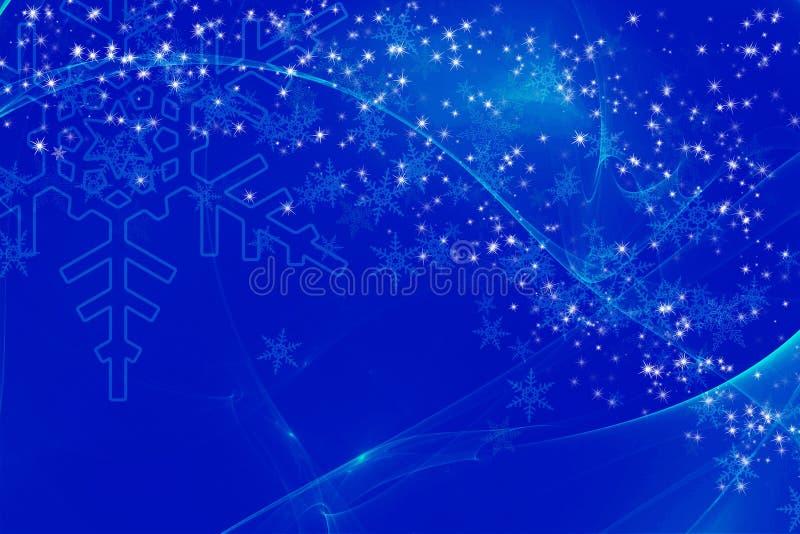 Предпосылка зимы иллюстрация штока