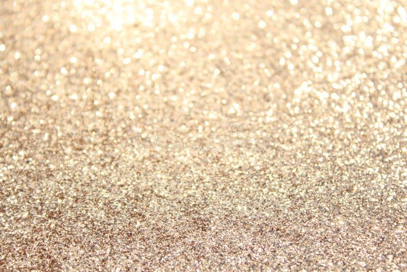 Предпосылка золота glittery стоковое изображение