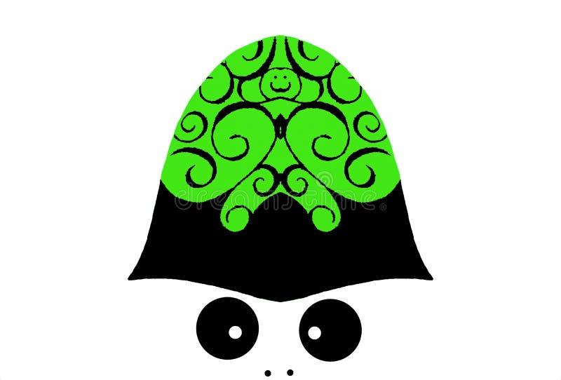 Предпосылка или обои: Великобританское Бобби со спиральным дизайном на шлеме иллюстрация вектора