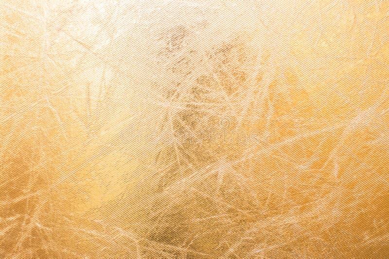 Предпосылка или текстура золота стоковые фотографии rf