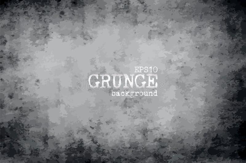 Предпосылка и текстура виньетки Grunge старые пакостные бумажные вектор иллюстрация вектора