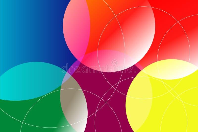 Предпосылка и текстура конспекта тона много цветов стоковое изображение