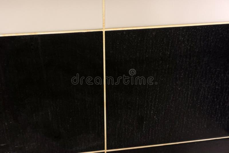 Предпосылка и текстура плитки ванной комнаты Подгоняйте их изображение ретро Создайте шум и имитатор царапины стоковые изображения