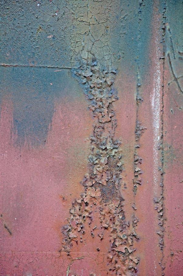 Предпосылка и текстура ржавчины Металл стоковое фото