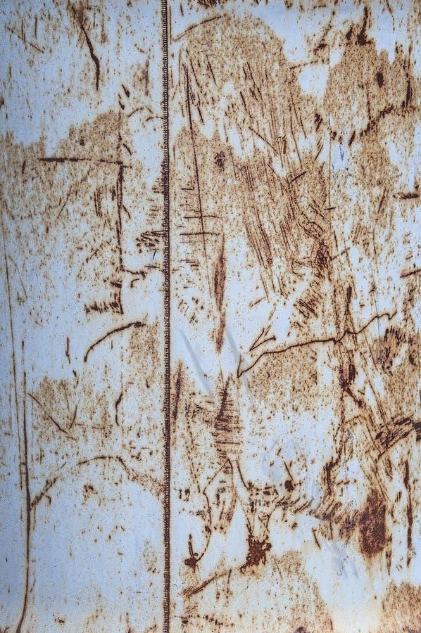 Предпосылка и текстура ржавчины утюг скресты стоковое изображение rf