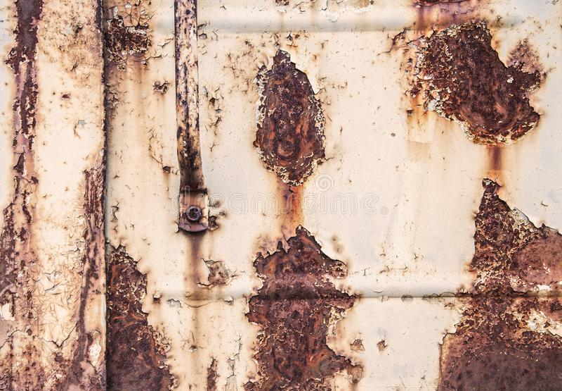 Предпосылка и текстура ржавчины утюг стоковые изображения