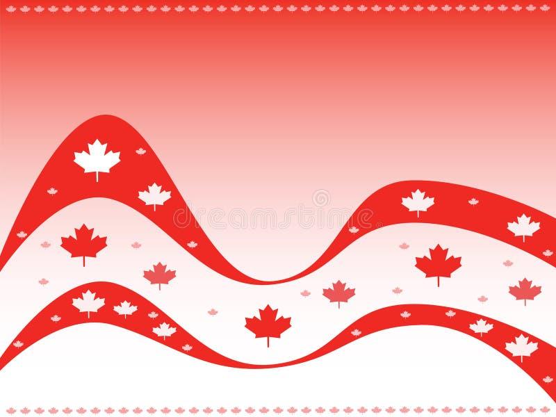 предпосылка Канада иллюстрация вектора