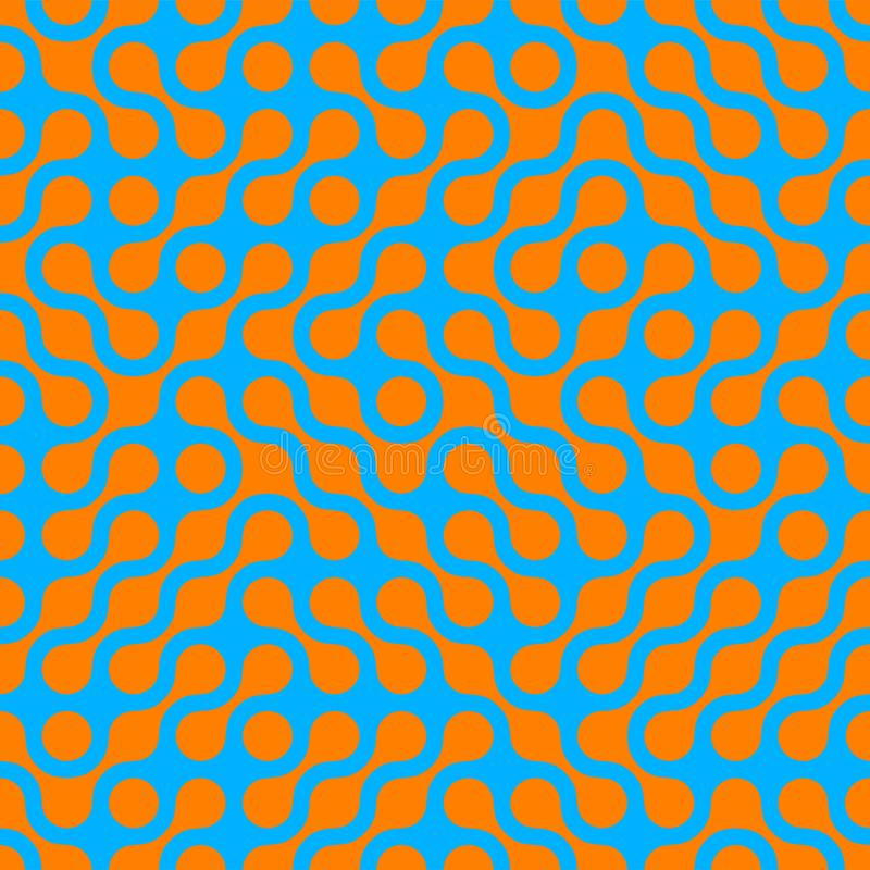 Предпосылка картины абстрактного полутонового изображения безшовная для ультрамодной современной цифровой технологии иллюстрация вектора