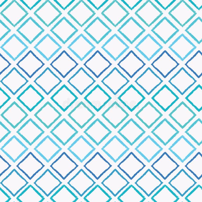 Предпосылка картины вектора красочного сизоватого ombre конспекта геометрическая безшовная с щеткой заштриховала формы диаманта д иллюстрация штока