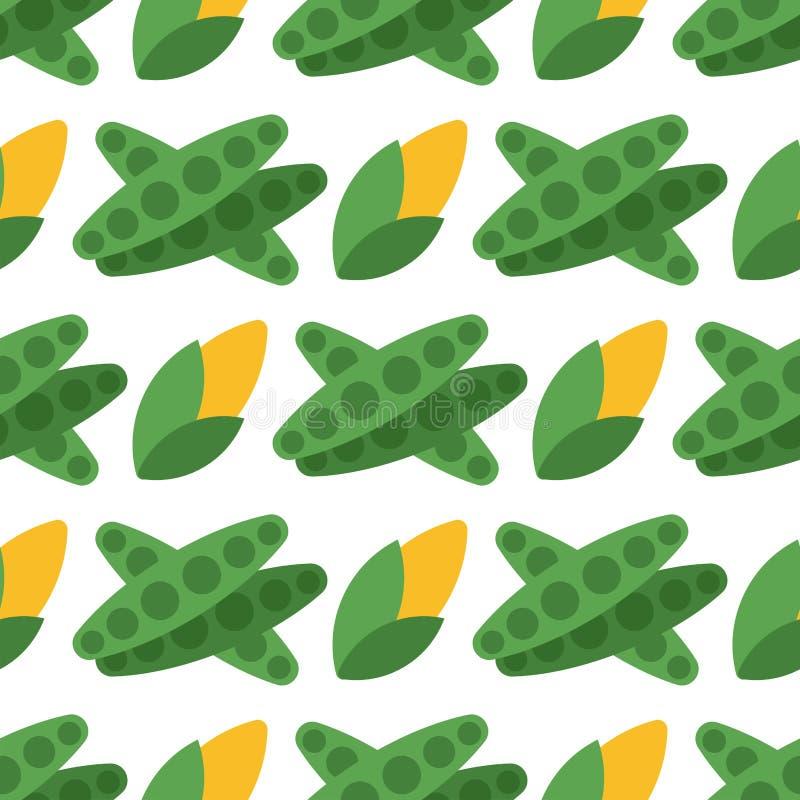 Предпосылка картины капусты безшовная для дизайна еды жать иллюстрацию вектора обоев витамина лета сада иллюстрация вектора