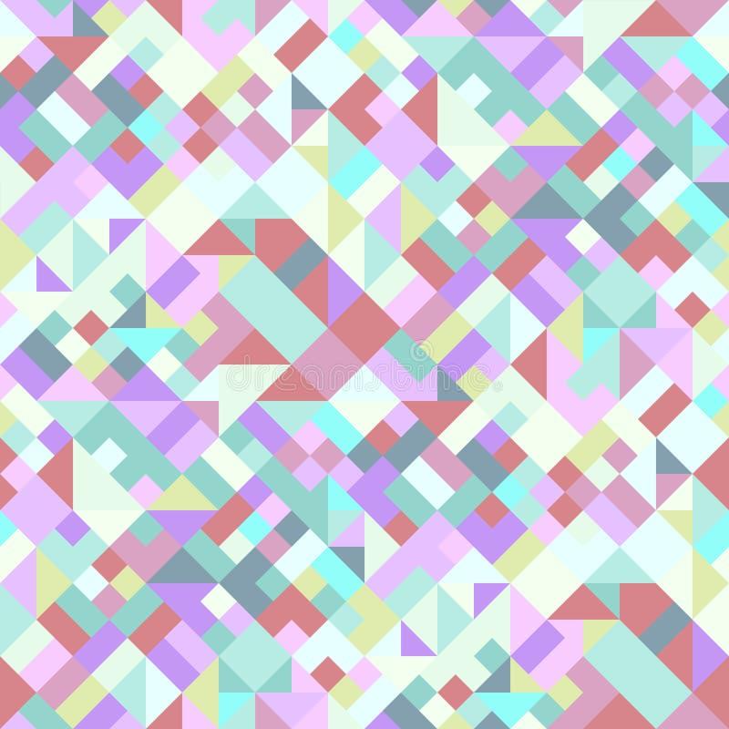 Предпосылка картины красочного конспекта безшовная раскосная геометрическая иллюстрация вектора