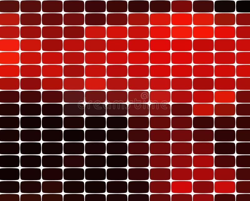 Предпосылка картины мозаики Яркие красочные плитки с белой текстурой зазоров иллюстрация штока