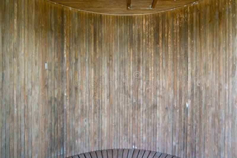 Предпосылка картины текстуры стены темного коричневого цвета деревянная стоковая фотография