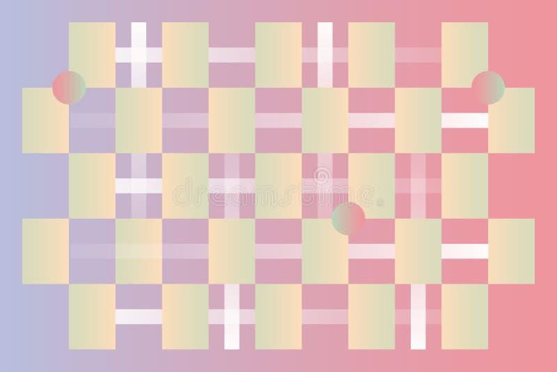 Предпосылка картины цвета Trandy иллюстрация вектора