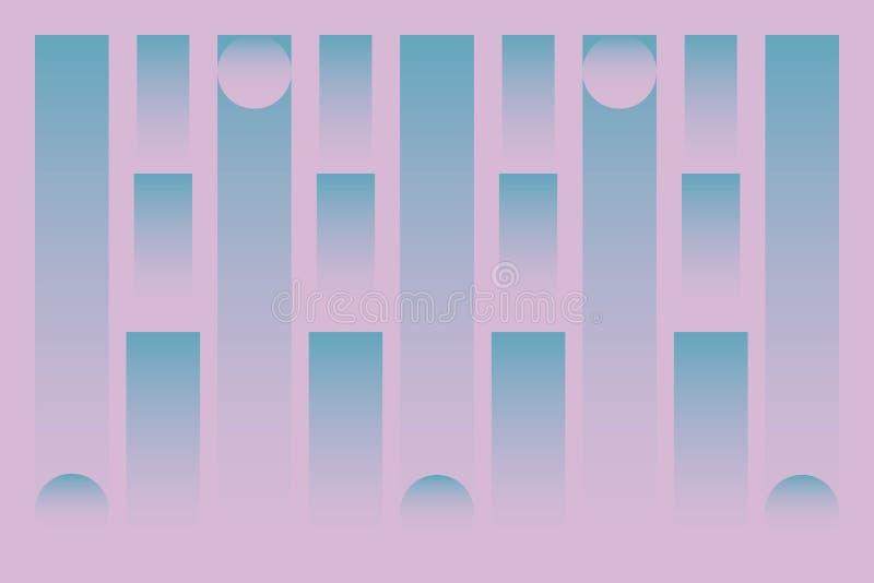 Предпосылка картины цвета Trandy бесплатная иллюстрация
