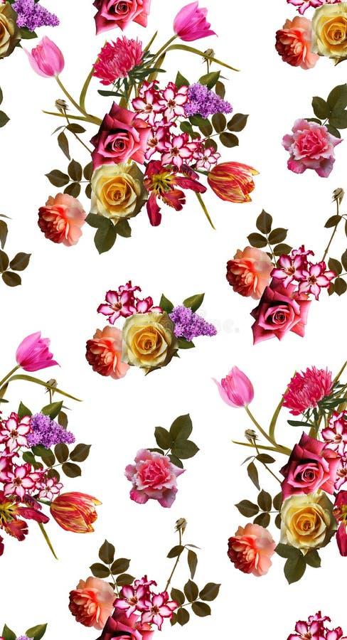 Предпосылка картины цветков букета стоковые фотографии rf