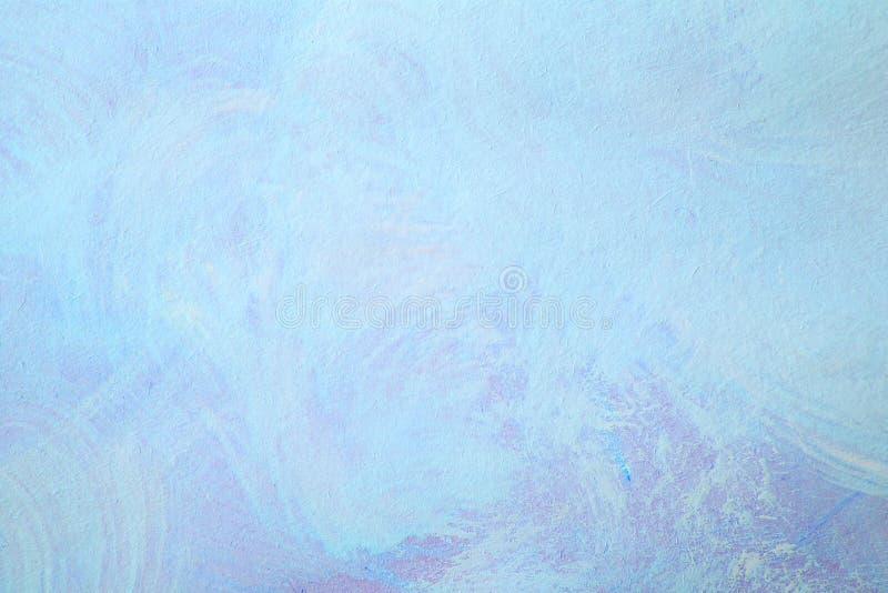 Предпосылка картины brushstroke абстрактного grunge голубая иллюстрация штока