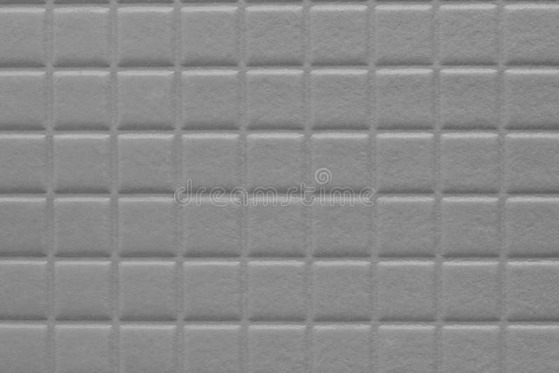 предпосылка квадратов с мягкой текстурой, металлическим серым цветом стоковое изображение