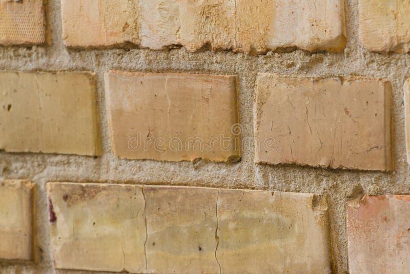 Предпосылка кирпичной стены в доме Великобритании стоковая фотография rf