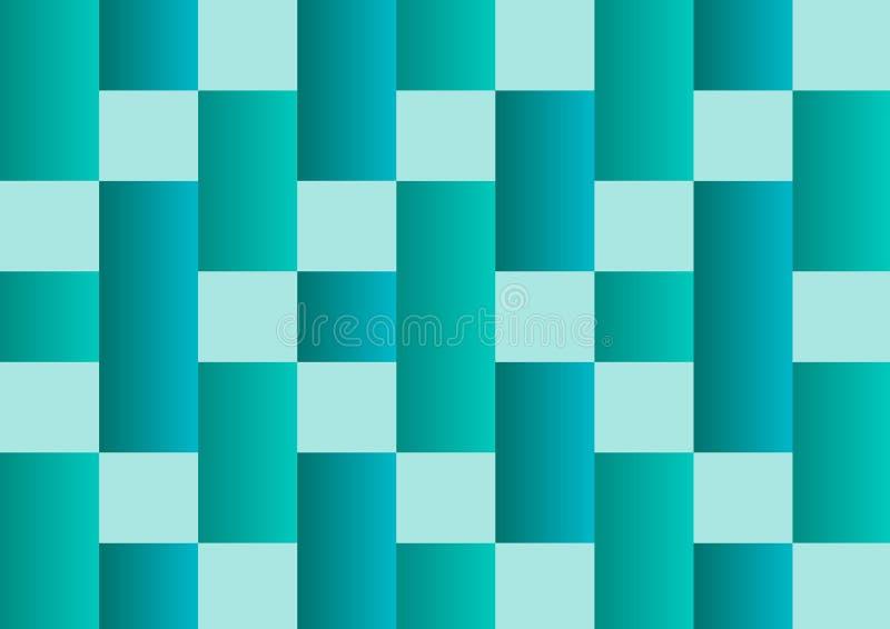 Предпосылка конспекта геометрическая зеленая r иллюстрация штока