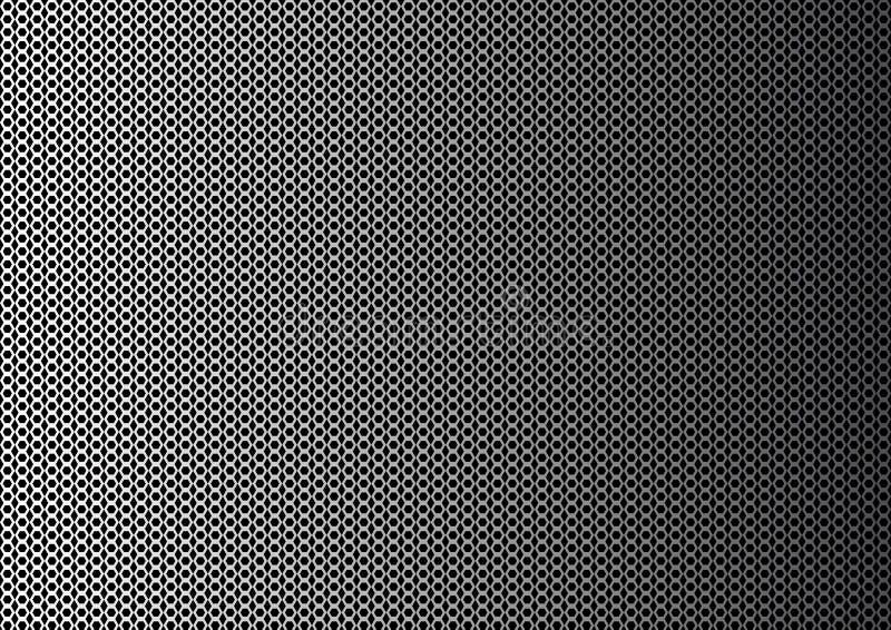 Предпосылка конспекта геометрическая monochrome с шестиугольниками r бесплатная иллюстрация