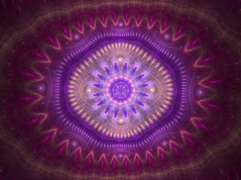 Предпосылка конспекта картины калейдоскопа Геометрический симметричный дизайн орнамента бесплатная иллюстрация