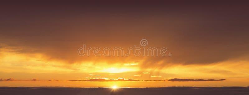 Предпосылка конспекта неба вечера стоковые фотографии rf