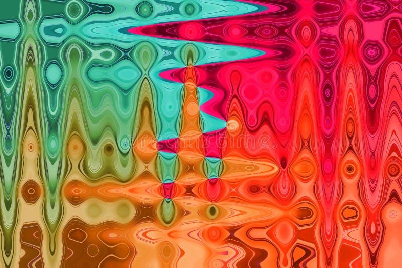 Предпосылка конспекта пестротканая пастельная, который развевали иллюстрация вектора