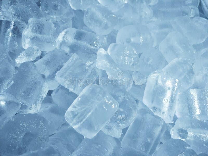 Предпосылка конца-вверх кубов льда стоковые изображения