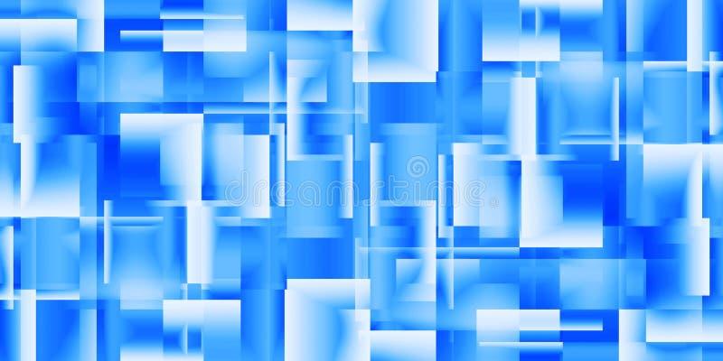 Предпосылка лоснистых квадратов иллюстрация штока