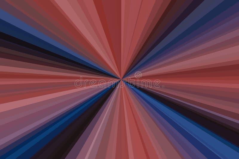 Предпосылка лучей абстрактного duotone ультрамодная Красочная конфигурация пучка излучения нашивок Цвета тенденции стильной иллюс стоковое фото