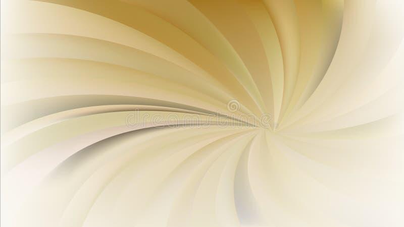 Предпосылка лучей конспекта оранжевая спиральная иллюстрация вектора