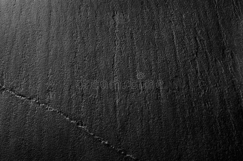 Предпосылка макроса текстуры плиты черного сланца стоковое фото rf