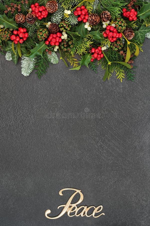 Предпосылка мира рождества стоковое фото