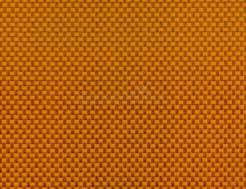 Предпосылка мозаики конспекта оранжевая покрашенная стоковое изображение rf