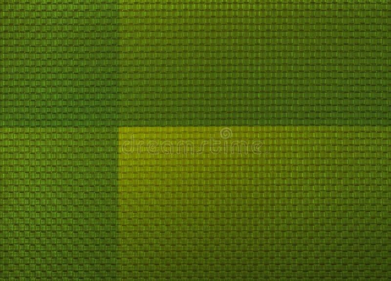 Предпосылка мозаики конспекта покрашенная зеленым цветом стоковые фотографии rf
