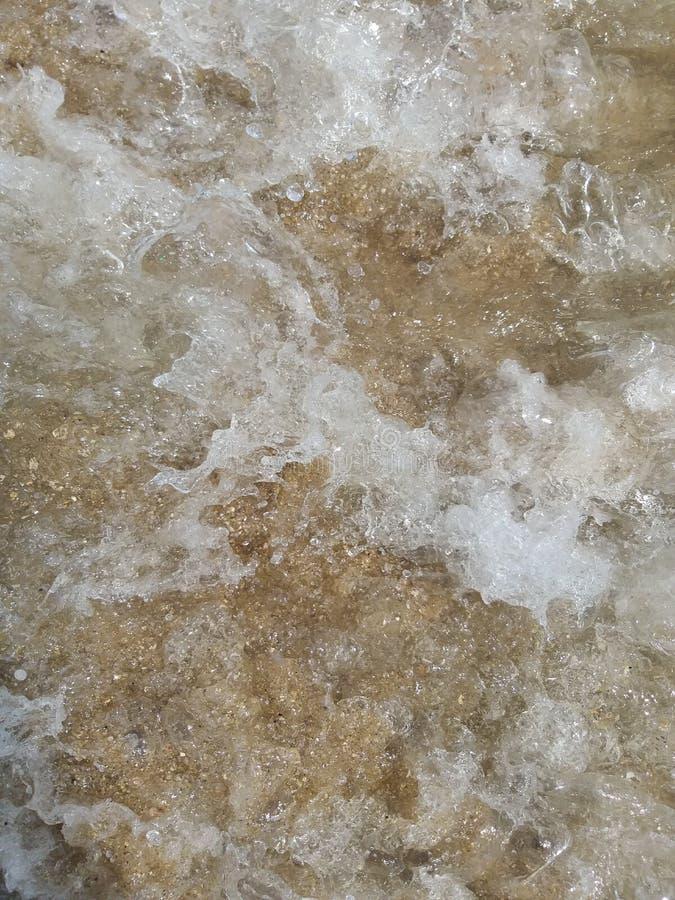 Предпосылка моря, песок стоковые фотографии rf