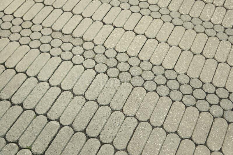 Предпосылка мостовой мозаики гранита серого цвета стоковое изображение rf