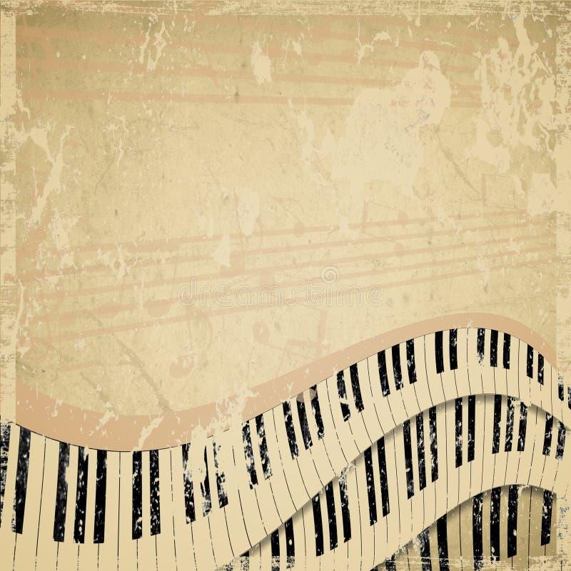 Предпосылка мюзикл Grunge бесплатная иллюстрация
