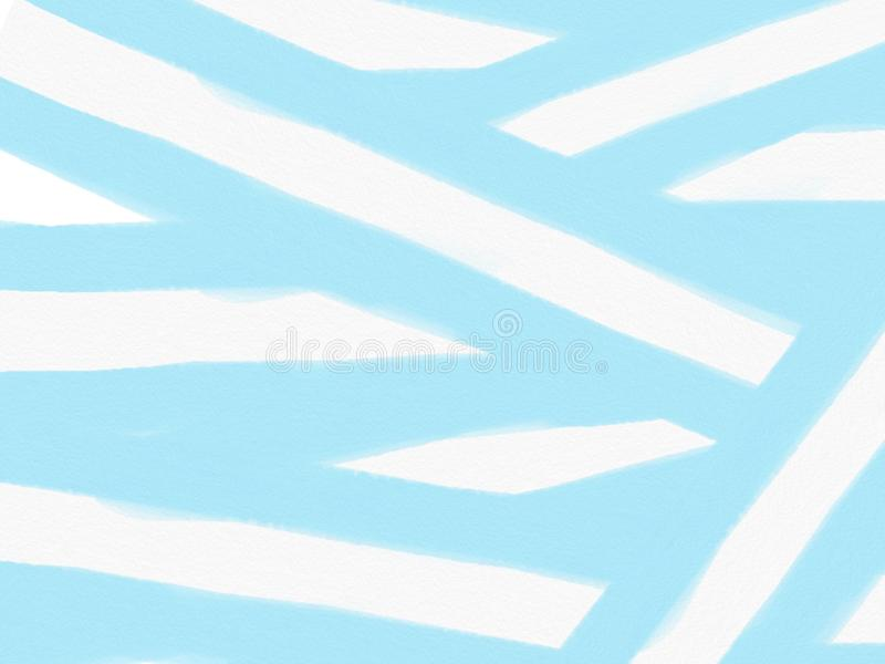 предпосылка Мягк-цвета винтажная пастельная абстрактная с покрашенными тенями голубого и белого цвета, иллюстрации иллюстрация вектора