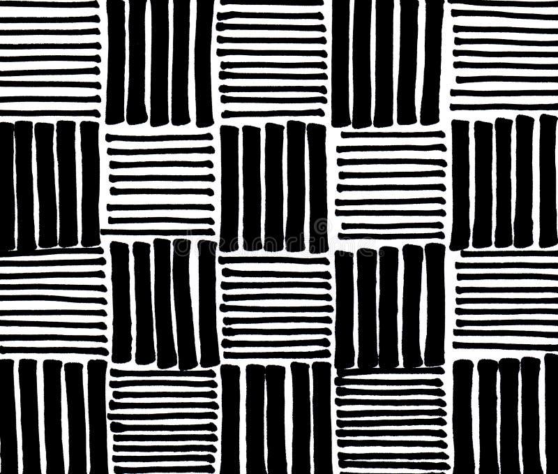 Предпосылка нашивок руки вычерченная черная бесплатная иллюстрация