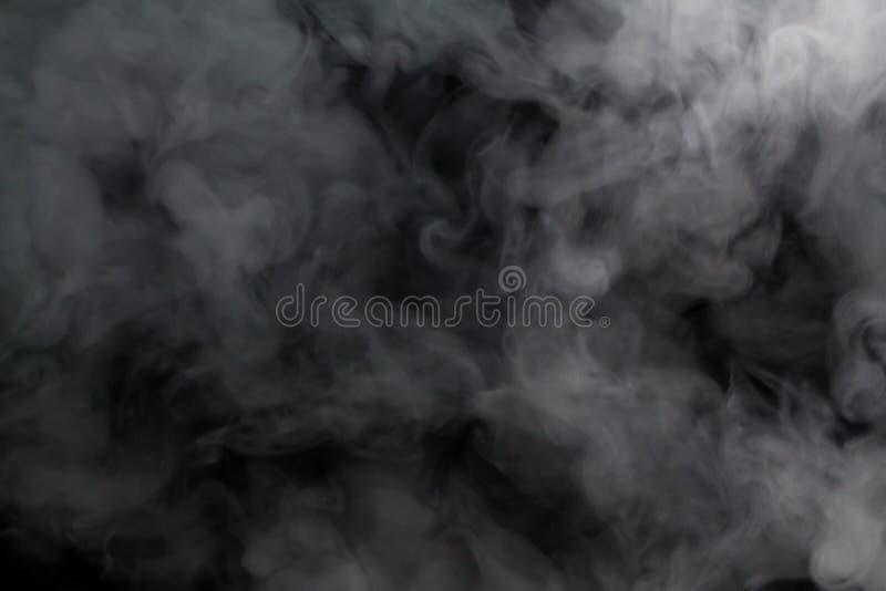 предпосылка нерезкости пара поплавка дыма стоковые фото
