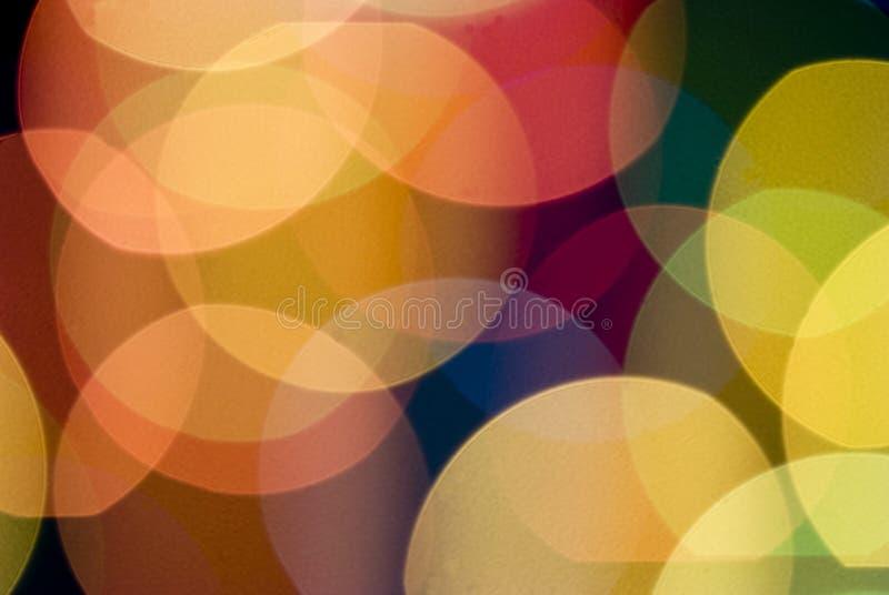 Предпосылка нерезкости светов цвета стоковое изображение rf