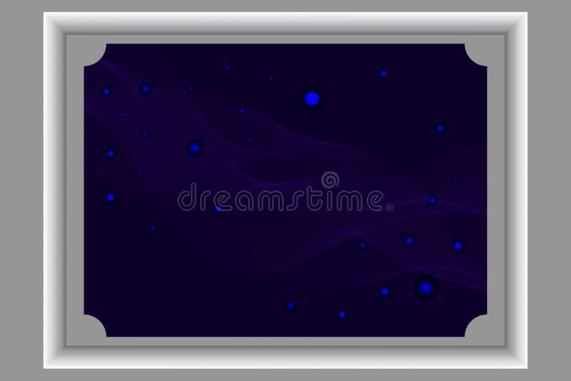 Предпосылка ночи с звездами стоковые фото