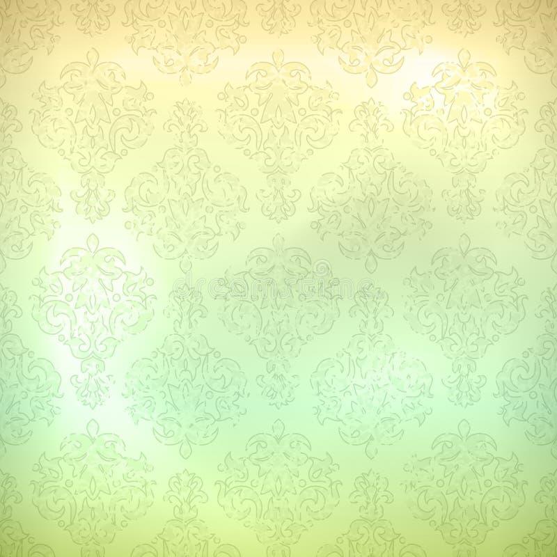 Предпосылка обоев картины Grunge ретро безшовная иллюстрация вектора