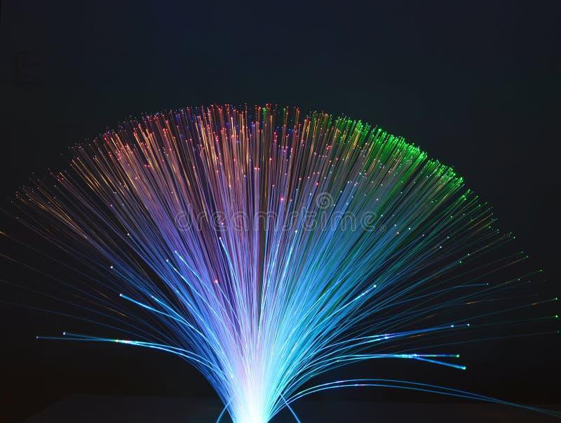 Предпосылка оптического волокна стоковое изображение rf